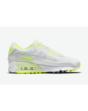 """Nike Air Max 90 """"Exeter Edition"""" Blanche/Volt DH0133-100"""