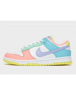 """Nike Dunk Low Femme """"Rose"""" Rose/Ghost-Lime Ice-Blanche DD1503-600"""