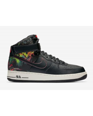 Nike Air Force 1 High Noir Floral CI2304-001