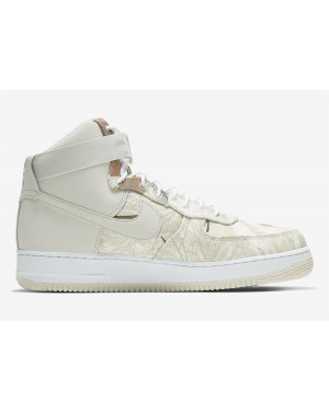 Nike Air Force 1 High Realtree Blanche Gris AO2410-100
