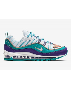 Nike Air Max 98 'Court Violet/Terra Blush-Spirit Teal' 640744-500