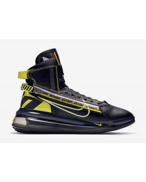 Nike Air Max 720 Saturn Noir Jaune BV7786-001