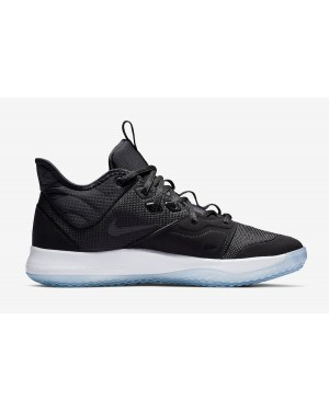 Nike AO2607-001 Paul George PG 3 Homme Basketball Chaussure Noir