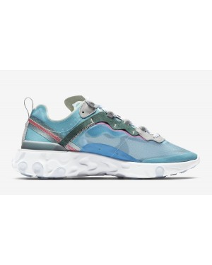 Nike React Element 87 Bleu Sneakers AQ1090-400