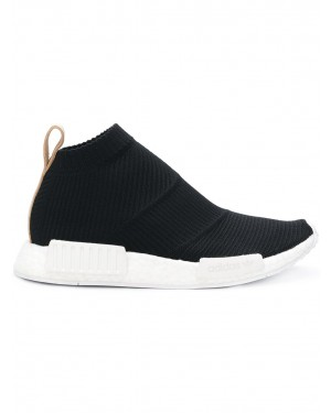 Adidas NMD City Sock Noir/Tan Leather AQ0948