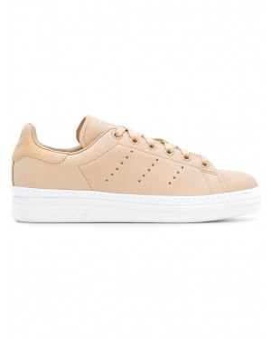 Adidas Stan Smith New Bold Femme (Beige/Blanche) - B37665