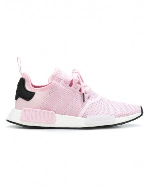 Adidas B37648 NMD R1 Femme Fonctionnement Chaussure (Rose/Blanche)