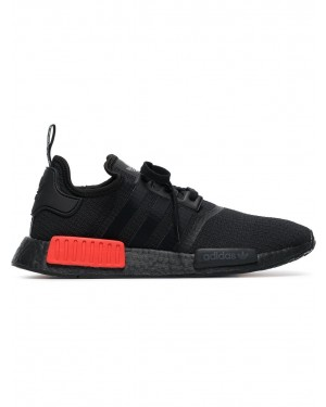 Adidas B37618 NMD R1 Homme Fonctionnement Chaussures Noir/Rouge