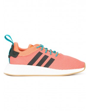 Adidas NMD R2 Summer Homme Cq3081 Orange Knit Boost