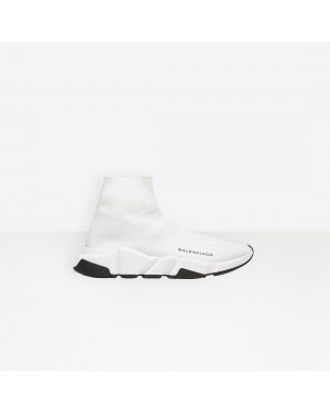 Balenciaga Femme Speed Trainers with Blanche textured sole Blanche 494371W05G09000
