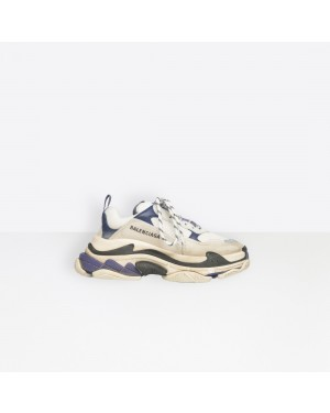 Balenciaga Femme Triple S Trainers Blanche 541641W09OF9095