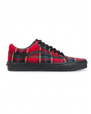 Vans Sneaker Homme Old Skool Plaid Mix Rouge Noir VN0A38G1U5P