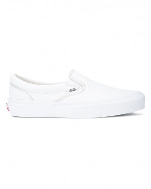 Vans Vault OG Classic Slip-On Blanche Leather VN000UDF1NT