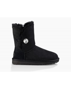 Femme Bailey Button Bling Boot Noir 1016553