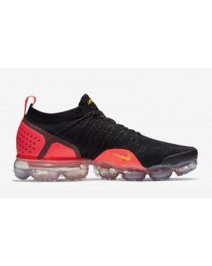 Air VaporMax Flyknit 2 'Laser Orange' - Nike - 942842-005