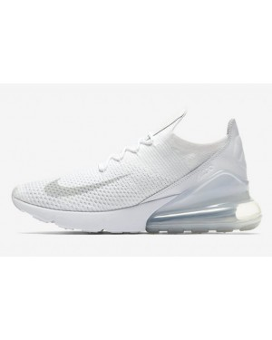 Nike Air Max 270 Flyknit Trainers Blanche AO1023-102