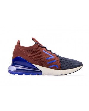 Nike Air Max 270 Flyknit Bleu Rouge Multi | AO1023-402