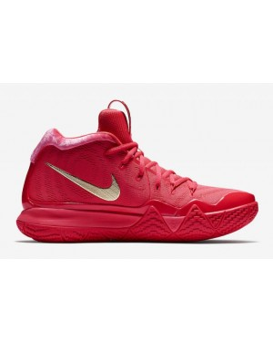 Nike Kyrie 4 943806-602 Red Carpet Métallique Or
