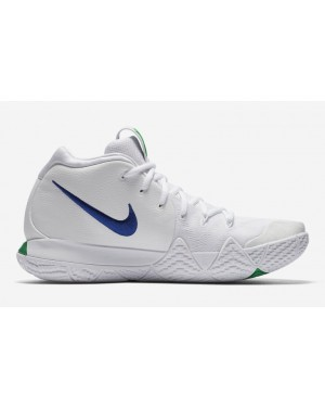 Nike Kyrie 4 Blanche Bleu Release Date 943806-103