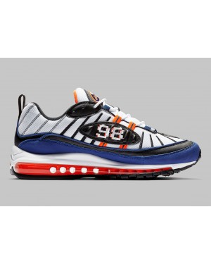 Nike Air Max 98 Blanche Bleu CD1536-100