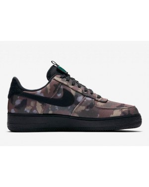 Nike Air Force 1 '07 (Camo/Noir) - AV7012-200