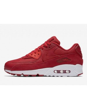 NIKE Air Max 90 Premium Homme Chaussures Rouge 700155-602