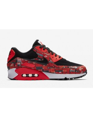 Nike aq0926-001 Atmos X Nike Air Max 90 Print We Love Nike Homme