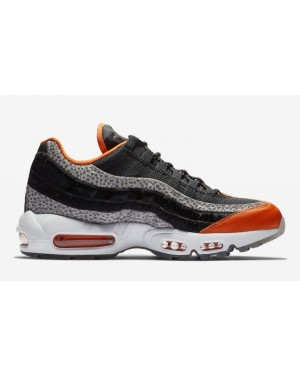 Nike Air Max 95 'Safari' Noir/Granite/Orange AV7014-002