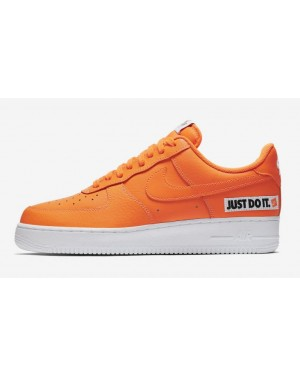 Nike Air Force 1 '07 LV8 JDI Leather | Orange | Sneakers BQ5360-800
