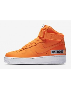 Nike Femme Air Force 1 High LX Leather | Orange | Sneakers | BQ7925-800