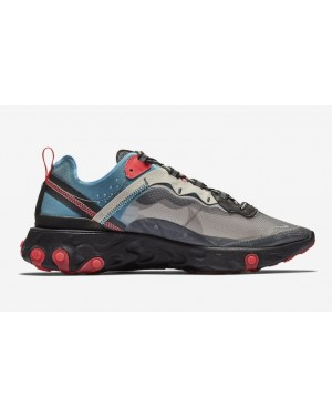 Nike React Element 87 Bleu Rouge AQ1090-006