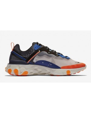 Nike React Element 87 Bleu Orange AQ1090-004