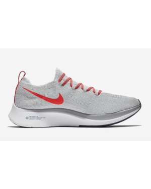 Nike Zoom Fly Flyknit Gris Orange AR4561-044